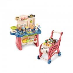 """Žaislų rinkinys """"Krautuvėlė"""" su 40 aksesuarų"""