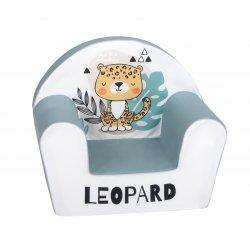 """Švelnus foteliukas - """"Leopard"""""""