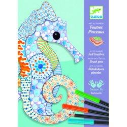 """Piešimo ir spalvinimo rinkinys """"Jūrų arkliukas"""""""
