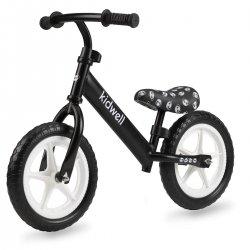 """Juodos spalvos balansinis dviratukas - """"REBEL Panda"""""""