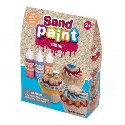 Blizgūs 3 spalvų kinetinio smėlio dažai