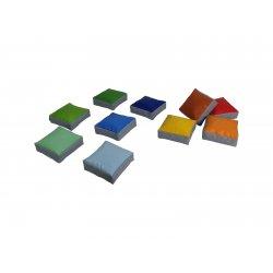 Keturkampių grindų pagalvėlių rinkinys