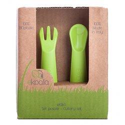 eKoala žalias ekologiškų stalo įrankių rinkinys