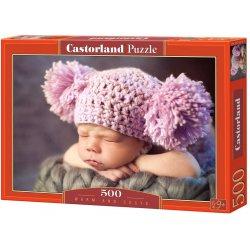"""Castorland dėlionė - """"Miegantis vaikas"""" - 500 vnt."""
