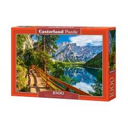 """Castorland dėlionė - """"Braies Lake Italy"""" - 1000 vnt. / C-104109-2"""