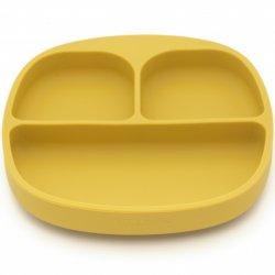 KOOLECO geltonas dubenėlis su skyreliais