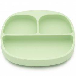 Švelniai žalias silikoninis KOOLECO dubenėlis
