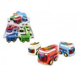 Mini autobusiukai su baterijomis