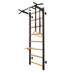 Gimnastikos sienelė su prisitraukimų strypais ir aksesuarais