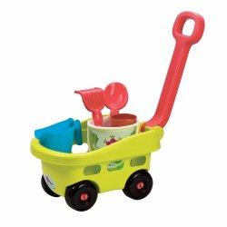 Žavus vežimėlis su smėlio žaislais