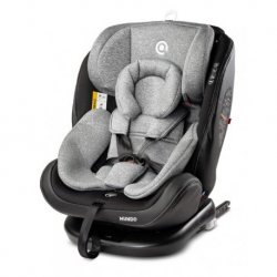 "Automobilio kėdutė Caretero ""Mundo Isofix Grey"" (0-36 kg)"
