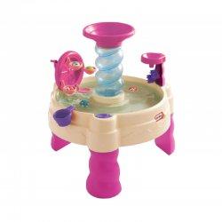 Vandens žaidimų staliukas su spiraliniu fontanu