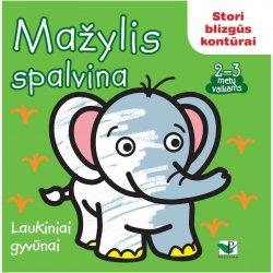 """Mažylio spalvinimo knygelė """"Laukiniai gyvūnai"""""""