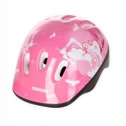 Rožinis šalmas Croxer / S