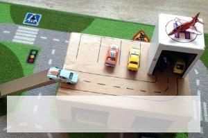 vaikiški garažai